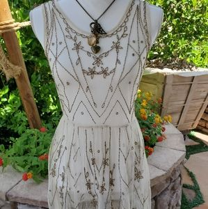 Free people art deco dress ,in great condition